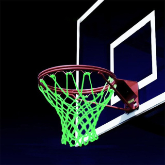 Sports Glowing Light Sun Power Basketball Hoop Net Shooting Traning