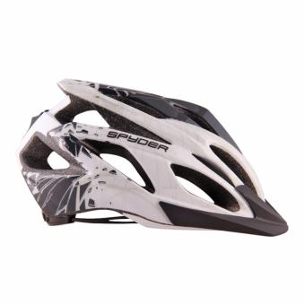 Spyder Cycling Helmet Bolt 131 (White/Black/Grey) - Large