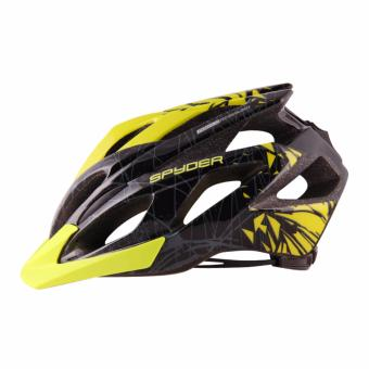 Spyder Cycling Helmet Bolt 381 (Black/Grey/Green) -Large - 4