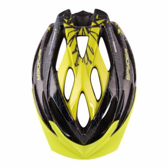Spyder Cycling Helmet Bolt 381 (Black/Grey/Green) -Large - 2