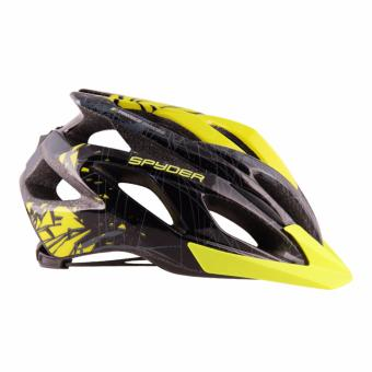 Spyder Cycling Helmet Bolt 381 (Black/Grey/Green) -Large