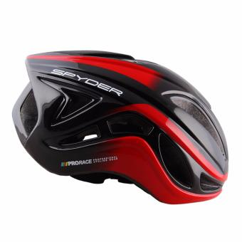 Spyder Cycling Helmet Stream 361 (Black/Red) -Medium
