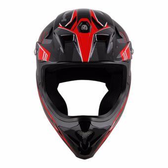Spyder Downhill Helmet Sigma II G 362 (Black/Red)-Medium - 2