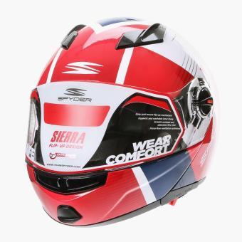 Spyder Mens Sierra Motorcycle Helmet (L)