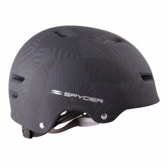 Spyder Urban Cycling Helmet Grind 351m (Matt Black/Silver) - Medium