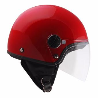 Spyder Zyclo 600 Motorcycling Helmet (Red) -Large
