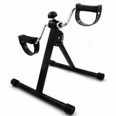 stamina portable pedal exercise bike black