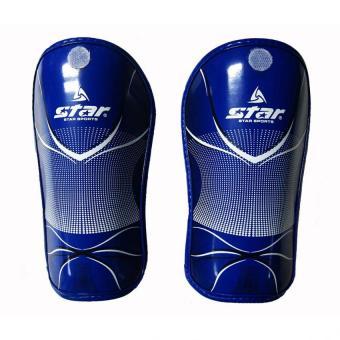 Star Shin Guard Adult (Blue)