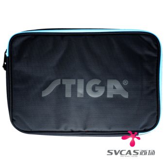 Stiga Pu bag square double layer table tennis racket