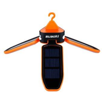 Suaoki solar panel foldable LED lantern (Orange) - 3