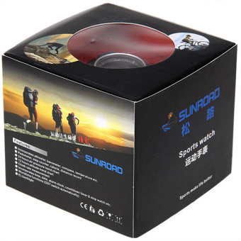 SUNROAD Sports Watch FR8204A Altimeter Barometer Thermometer ELBacklight - 5