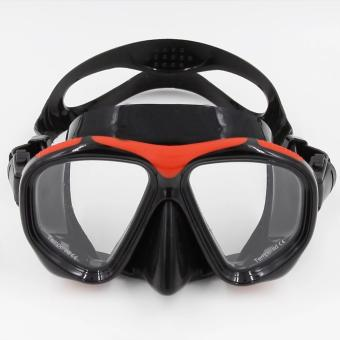 Super PVC Swimming Scuba Anti-Fog Goggles Mask Dive Diving Glassesw/ Dry Snorkel Set