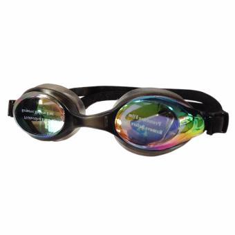 Swimming Goggles with Anti-Fog/UV Protection with Free ProtectionCase (Black)