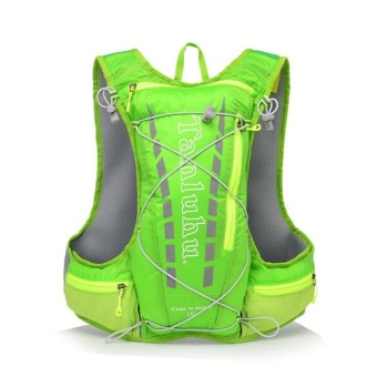 TANLUHU 15L Trail Running Backpack Hydration Vest Pack OutdoorCamping Hiking Running Water Hydration Sports Bag - intl