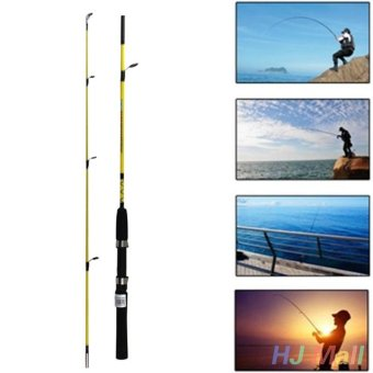 Telescopic Fishing Rod Portable Lure Section Feeder Sea Fish Pole 1.2M - intl