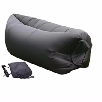The Quality Of Thick Fast Inflatable Camping Sofa Banana SleepingBed/Bag Hangout Nylon Lazy Bag Air Bed/Chair/Couch/Lounger