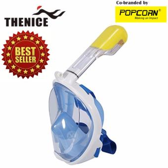 Thenice M2096G Full-Face Easybreath Snorkeling Mask With Camera Holder Size S/M