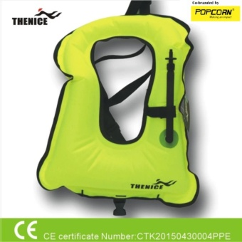 Thenice Unisex Outdoor High Quality Inflatable Life Vest & Jacket- For Adult