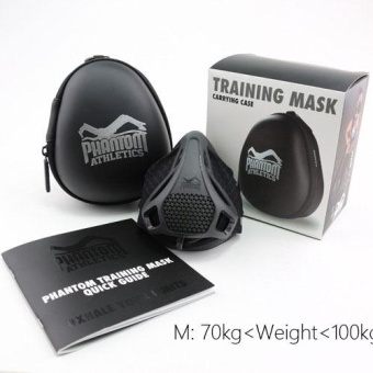 Training Mask [Original Black], Elevation Training Mask, Fitness Mask, Workout Mask, Running Mask, Breathing Mask, Resistance Mask, Elevation Mask, Cardio Mask, Endurance Mask For Fitness - intl