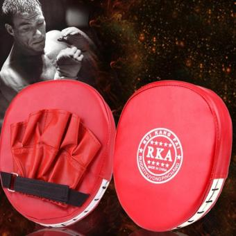 Training Target Focus Punch Pad SandBags MMA Punching Bag ForMartial Arts Free Combat Boxing Karate Muay (Red)