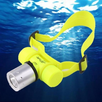 U'King Diving Flashlight XML T6 1000 Lumen Underwater 50mWaterproof LED Headlamp Headlight Bicycle Cycling Lights Dive HeadLight Torch - intl Price Philippines