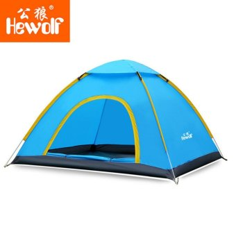 Ultralight 2 Person Quick Open Tent Waterproof Fully Automatic Tent4 Seasons Anti Uv Single Layer Beach Camping Tent - intl Price Philippines