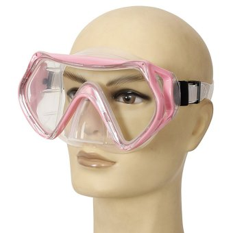 UN3F Swimming Diving Protective Goggles Snorkeling Mask Tempered Glass Stylish (Pink) (Intl) - picture 2