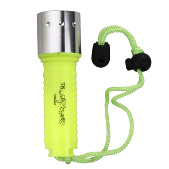 Underwater 1800LM T6 Diving Flashlight Torch Lamp(Europeanregulations)