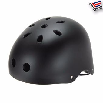 Unisex Bmx Nutshell Bike Cycling Protective Helmet (Black) Buy 1Take 1 - 3