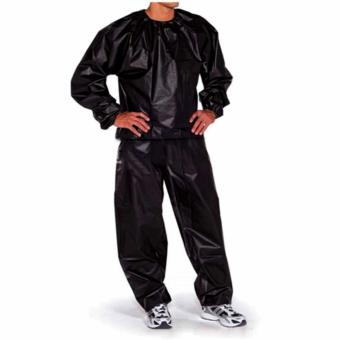 Unisex Sauna Suit Black