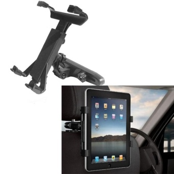 Universal Car Back Seat Headrest Mount Holder For iPad 2/3/4/5Tablet - intl