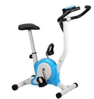 Upright Stationary Bike (Blue) and with Revoflex Xtreme - 2