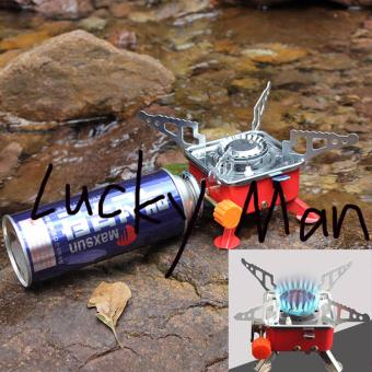 USA TOP ONE lazada and USA best selling mini Square PortableWindproof Camping Butane Gas Stove