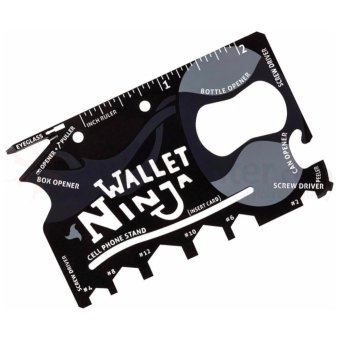 Wallet Ninja 18 in 1 Pocket Multi-Tool