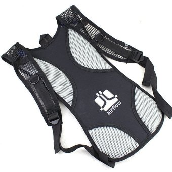Water Hydration Back Pack #0082 (Black) with 2.0L Bladder - 2