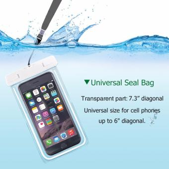 Water Proof, Dust Dirt Proof, Snow Proof Dry Bag for Cell Phone(white) Price Philippines