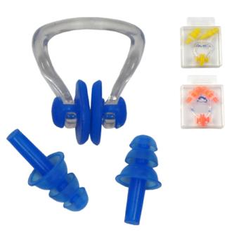 Waterproof diviing nose clip earplugs