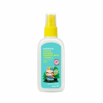 WATSONS Natural Mosquito Repellent Spray 80ml - intl