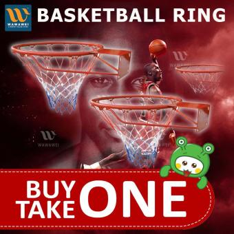 Wawawei New Amazing Sports Basketball Hoop Net Ring Wall Mounted Outdoor Hanging Basketball Ring #32CM BUY ONE TAKE ONE 1