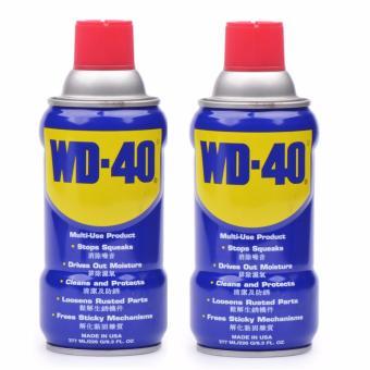 WD-40 Anti Rust Lubricant 277ml (Blue) Bundle of 2