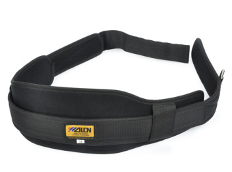 Weight Lifting Belt Gym Fitness Wide Back Support Training Train Sport L Black