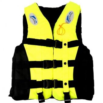 Whistle+Adult Life Jacket Swimming Boating Sailing Drifting Lifevest S (Yellow) Price Philippines