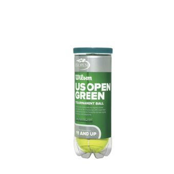 WILSON Tennis Ball Tb US Open Green Tourna Wrt137500 Green