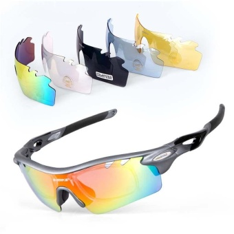Windproof Bicycle Cycling Riding Outdoor Sports Sun GlassesPolarized Sunglasses - intl