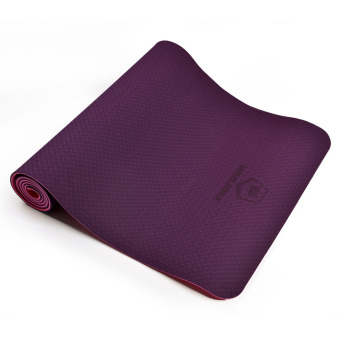 Winmax 6mm Natural Rubber Yoga Mat Light Weight Comfortable Purple- intl Price Philippines