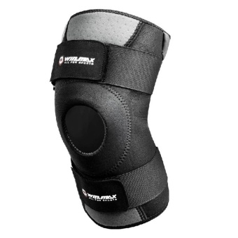 Winmax Sport Neoprene Elastic Open Patella Knee ProtectorAdjustable Knee Support Size M (Black) Price Philippines