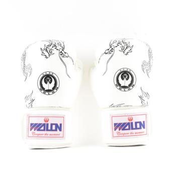 Wolon Dragon Type MMA Gloves (White)