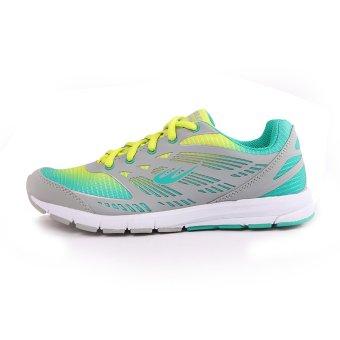 World Balance Endure L Running Shoes (Gray/Green) - 2