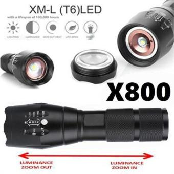 X800 Tactical Flashlight LED Military Lumens Alonefire - intl