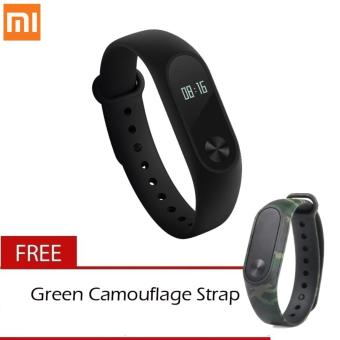 Xiaomi Mi Band Version 2 with Free Extra Wrist Strap